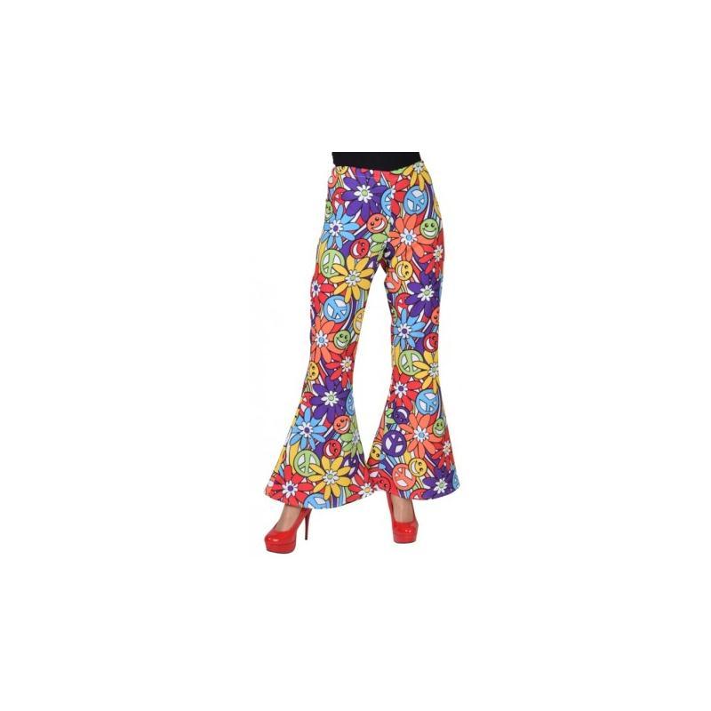 d guisement pantalon hippie smile femme luxe taille s costumes femme creavea. Black Bedroom Furniture Sets. Home Design Ideas