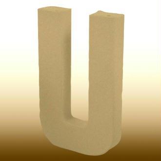 Lettre en carton géante 50cm U