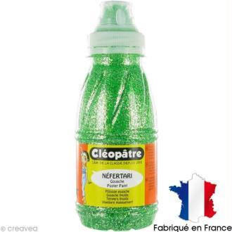 Gel pailleté NEFERTARI Vert 250 ml