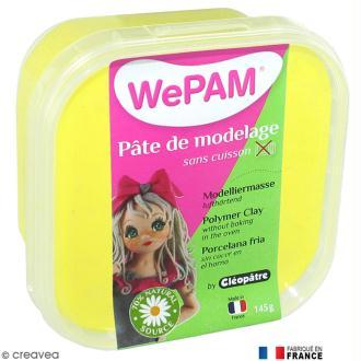 Porcelaine froide à modeler WePAM Jaune 145 g