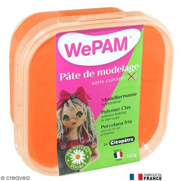 Porcelaine froide à modeler WePAM Orange 145 g - Photo n°1