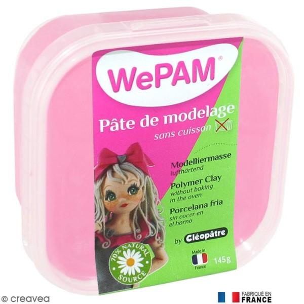 Porcelaine froide à modeler WePAM Rose Dragée 145 g - Photo n°1