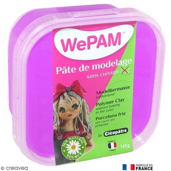 Porcelaine froide à modeler WePAM Parme 145 g - Photo n°1