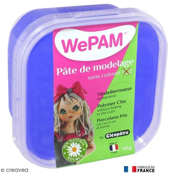 Porcelaine froide à modeler WePAM Bleu Royal 145 g - Photo n°1