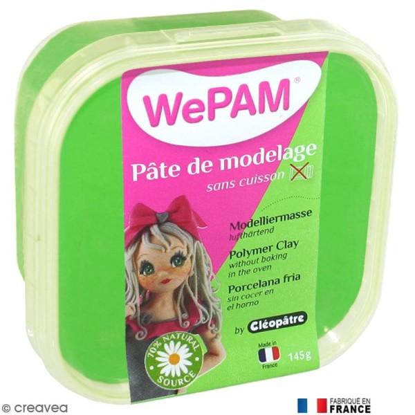 Porcelaine froide à modeler WePAM Vert 145 g - Photo n°1