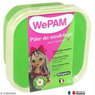 Porcelaine froide à modeler WePAM Vert 145 g