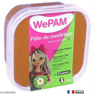 Porcelaine froide à modeler WePAM Caramel 145 g