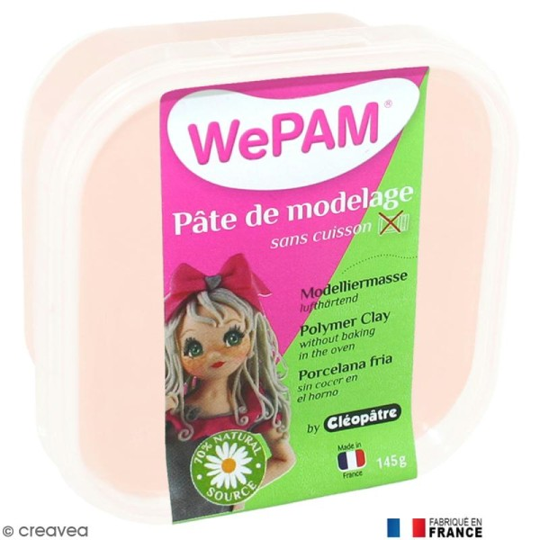 Porcelaine froide à modeler WePAM Chair 145 g - Photo n°1
