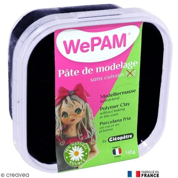 Porcelaine froide à modeler WePAM Noir 145 g - Photo n°1