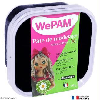 Porcelaine froide à modeler WePAM Noir 145 g
