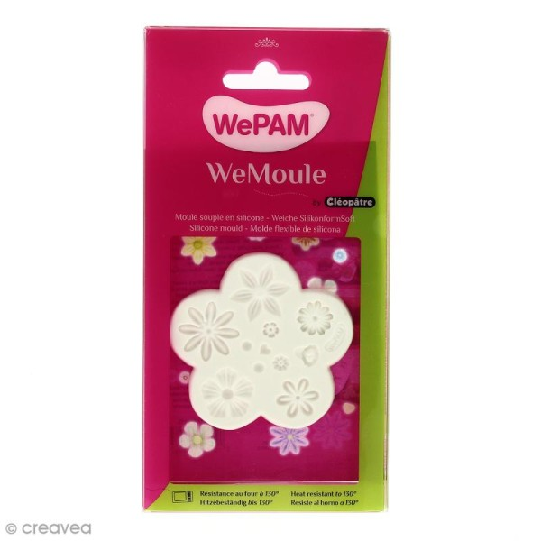 Moule silicone WePAM Fleurs - Photo n°1