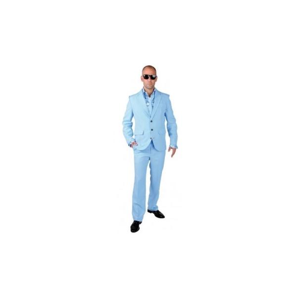 af06ad0b1ab Déguisement Costume bleu ciel homme luxe  Taille XL - Costumes homme ...