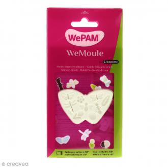 Moule silicone WePAM Fleurs et Papillons
