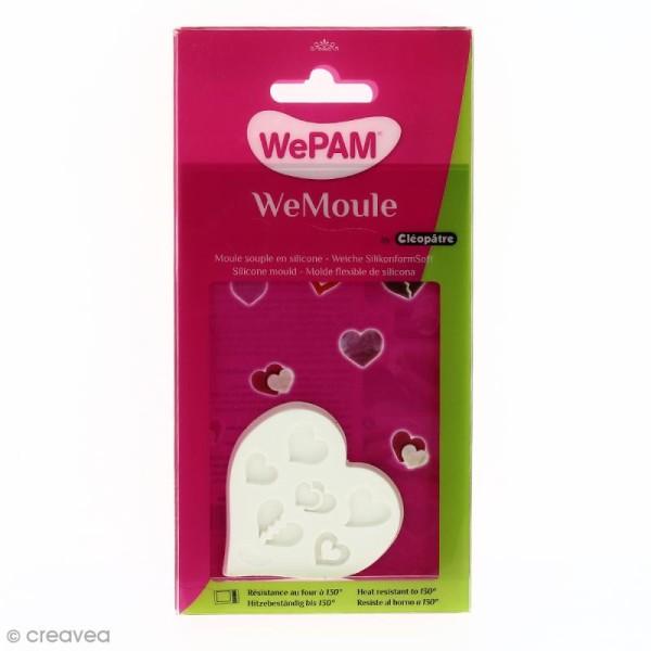 Moule silicone WePAM Coeurs - Photo n°1