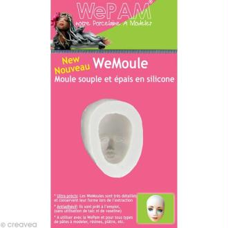 Moule silicone WePAM Visage par Natasel