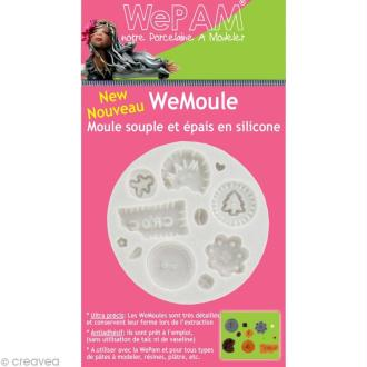 Moule silicone WePAM Boutons