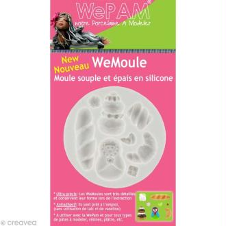 Moule silicone WePam - Matriochka et ses gourmandises