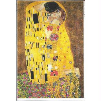 Papier de riz 22x32 cm Klimt Le Baiser Découpage Collage Scrapbooking  Carterie