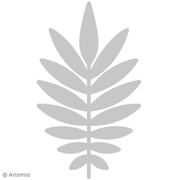 Die Artemio Feuille de palmier - 8 x 13,5 cm - 1 matrice de découpe - Photo n°2