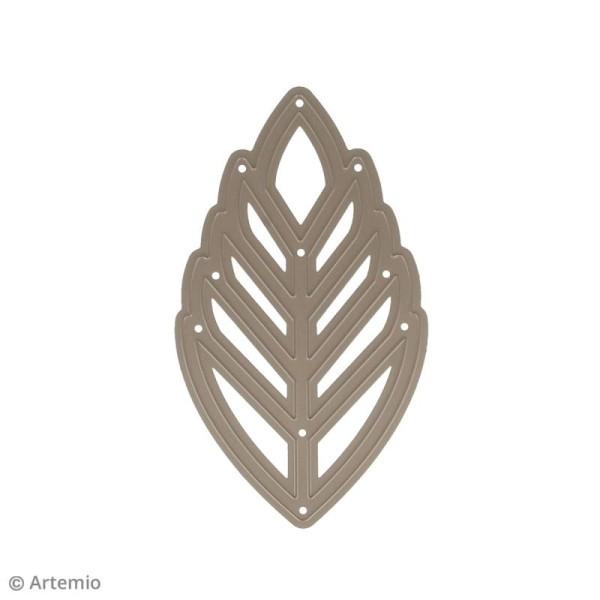 Die Artemio Feuille de palmier - 8 x 13,5 cm - 1 matrice de découpe - Photo n°3
