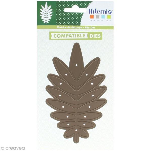 Die Artemio Feuille de palmier - 8 x 13,5 cm - 1 matrice de découpe - Photo n°1