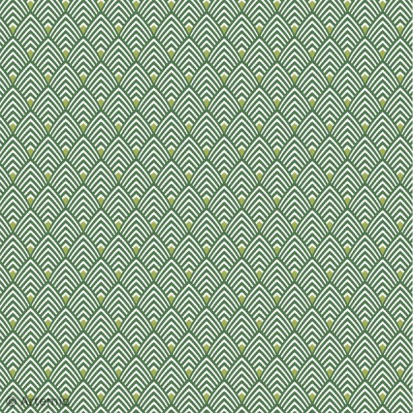Papier Scrapbooking Artemio - Deep green - 30,5 x 30,5 cm - 40 pcs - Photo n°3