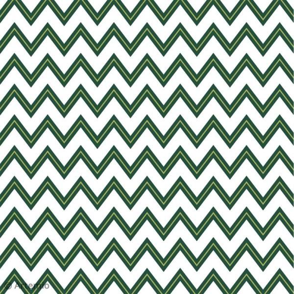 Papier Scrapbooking Artemio - Deep green - 30,5 x 30,5 cm - 40 pcs - Photo n°6