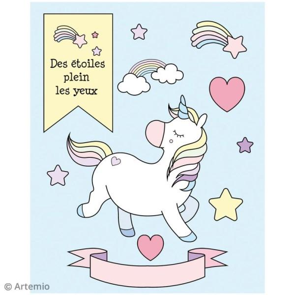Stickers Artemio textes - Pâques - 1 planche 15,5 x 16 cm - Photo n°3