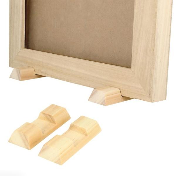 Livre d'or en bois à décorer - 42 x 29,7 x 2,3 cm - Photo n°4