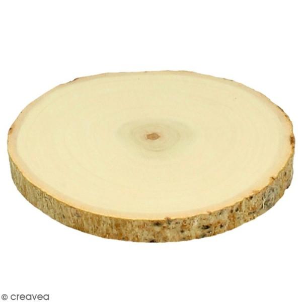 Rondelles de bois - 11,5 cm - 2 pcs - Photo n°1