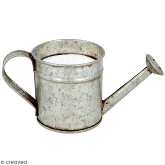 Arrosoir en métal avec mousse polystyrène - 6,5 x 6 cm