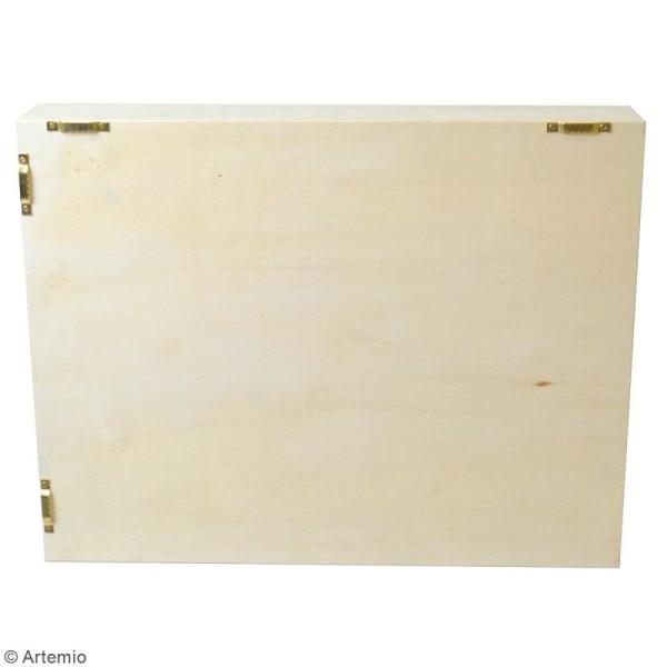 Etagère à cases - 6 compartiments - 31 x 40 x 7 cm - Photo n°3