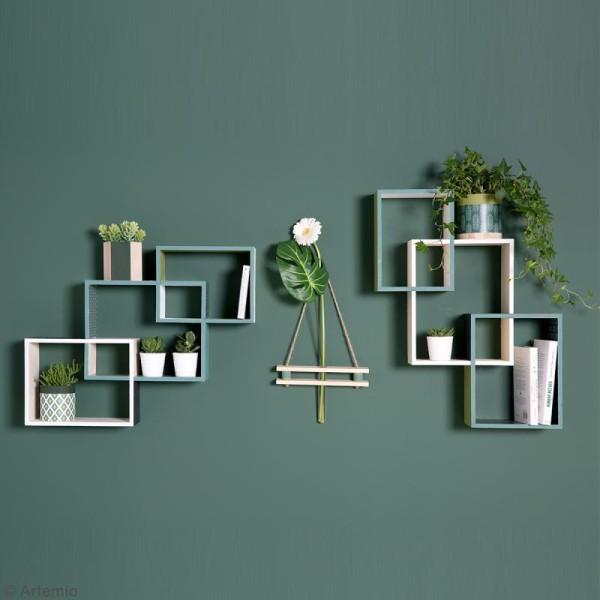 Set 3 étagères rectangulaires imbriquées à décorer - 45 x 60 cm - Photo n°3