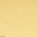 Coupon de tissu coton Crafty cotton - Losanges blancs - Fond Ocre - 145 x 110 cm - Photo n°2