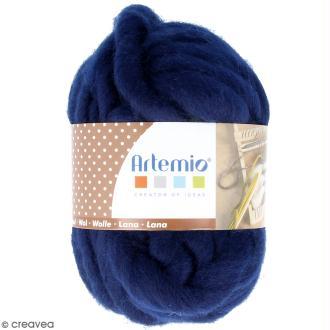 Laine épaisse Artemio 70 g - Bleu nuit - 10 m
