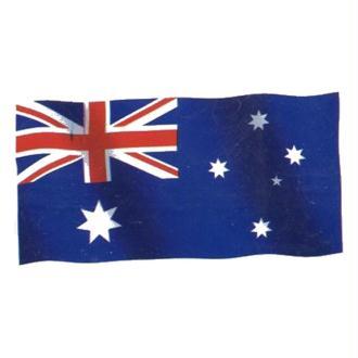 Drapeau Australie en tissu 90cm x 150 cm