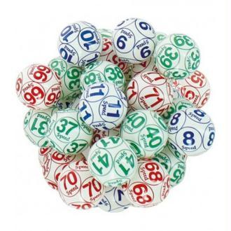 90 Balles de professionnels numérotées 10 fois Ø 38 mm