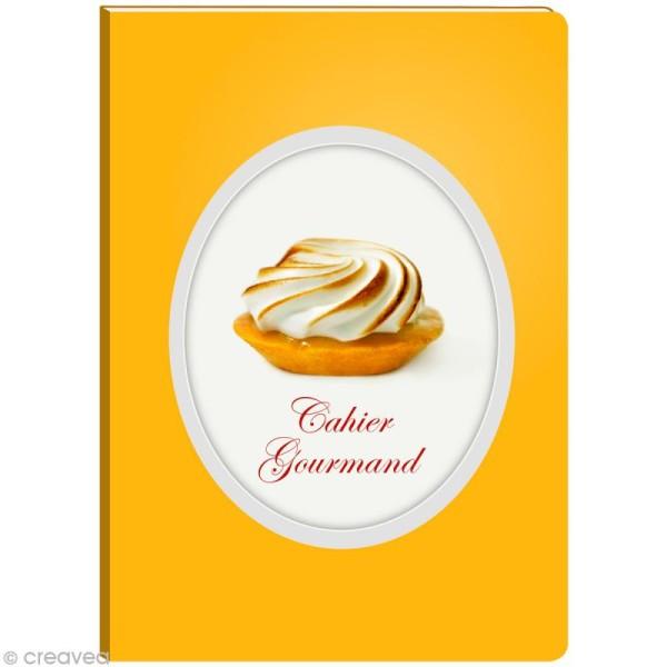 Cahier gourmand fantaisie - Tartelette citron A5 - 96 pages - Photo n°1