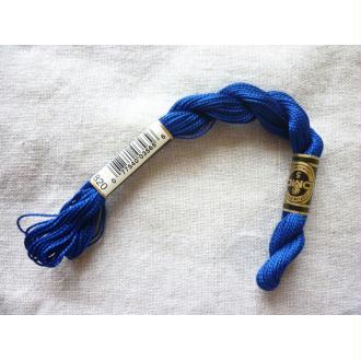 Coton perlé DMC n° 5 bleu outremer col 820 - 25 mètres de fil