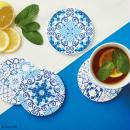 Papier scrapbooking Papermania - Collection capsule Moroccan Blue - 30,5 x 30,5 cm - 32 feuilles - Photo n°2