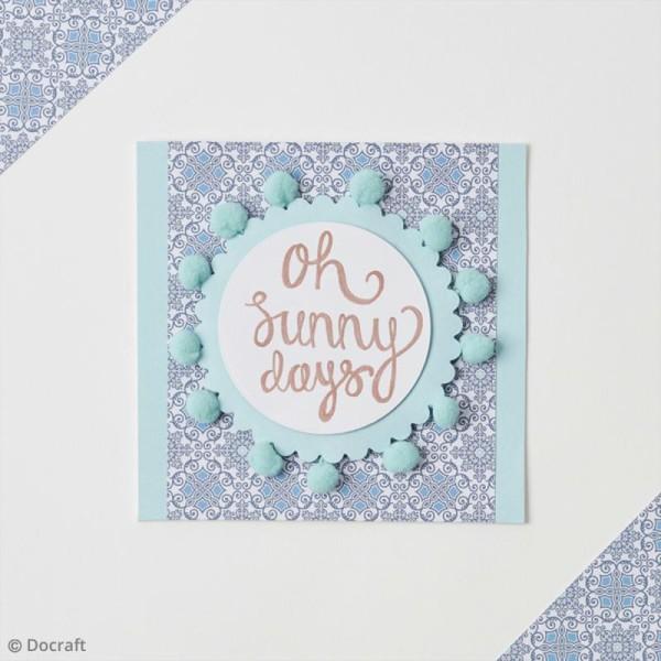 Set d'embellissements pour tissus Docrafts - Collection capsule Moroccan Blue - 10 pcs - Photo n°2