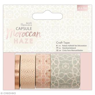 Assortiment Craft Tape Papermania - Collection capsule Moroccan Haze - 4 pcs x 5 m