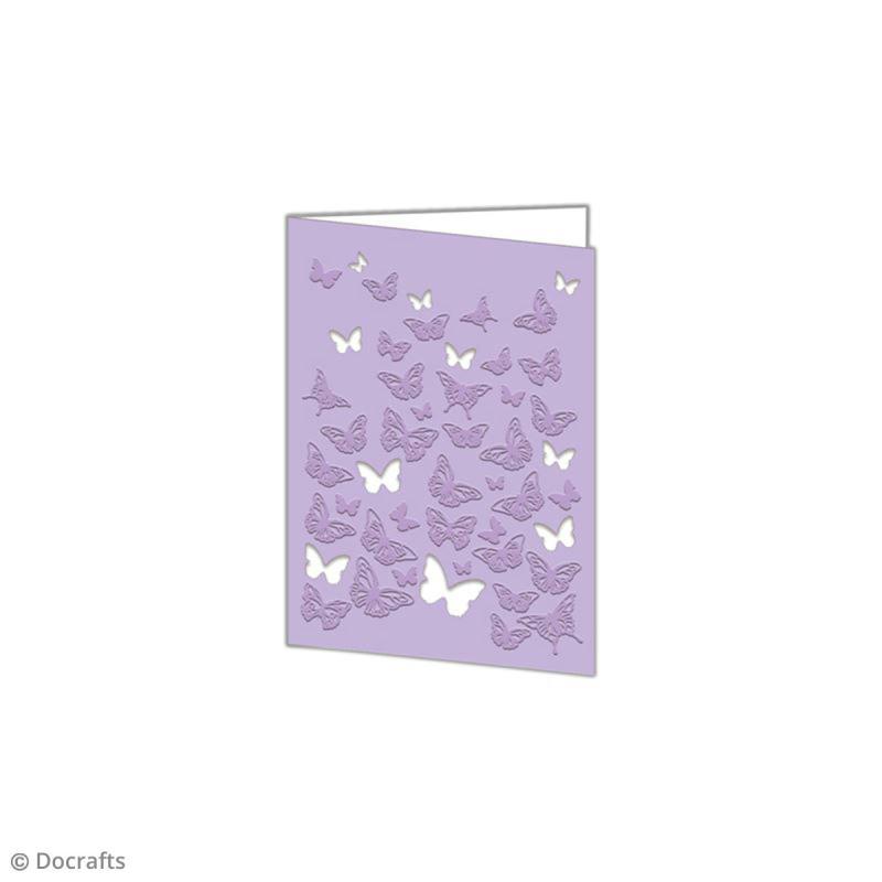 Matrice de coupe et d'embossage - Papillon - 10 x 14,5 cm - 1 pce - Photo n°2