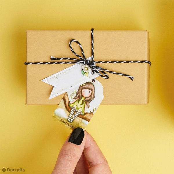 Kit sac cadeau Papermania - Gorjuss Santoro - 25 pcs - Photo n°3