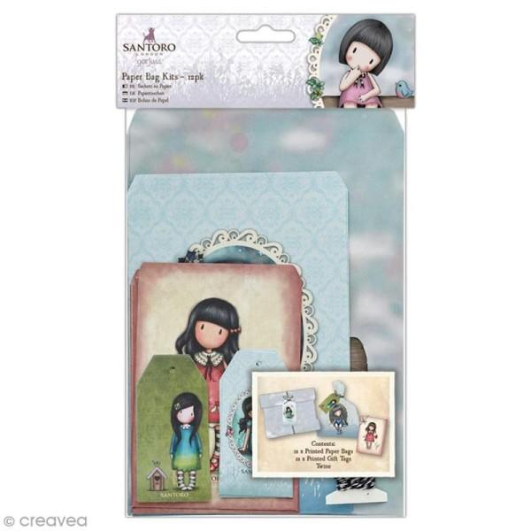 7c141cdb8a Kit sac cadeau Papermania - Gorjuss Santoro - 25 pcs - Papiers ...