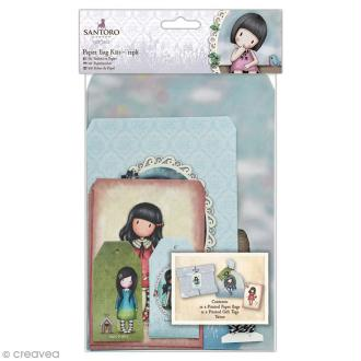 Kit sac cadeau Papermania - Gorjuss Santoro - 25 pcs