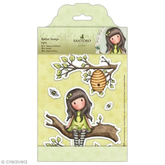 Tampon cling Santoro - The little leaf - 7 pcs