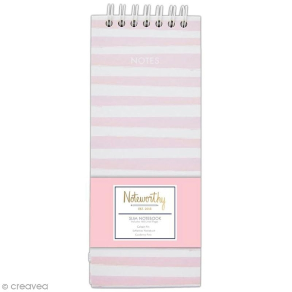 Calepin notes à spirale A6 - Docrafts Noteworthy - Collection Pastel hues - Photo n°1