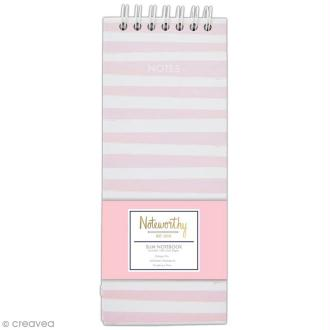 Calepin notes à spirale A6 - Docrafts Noteworthy - Collection Pastel hues