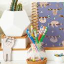Carnet de notes à spirale A6 - Docrafts Noteworthy - Collection It's a Sloths life - Photo n°2